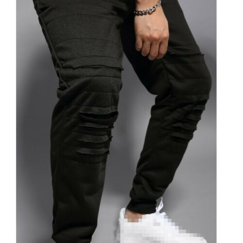 Men/'s Outdoor Casual Pants Sweatpants Stretch Western style Jogging Trousers B