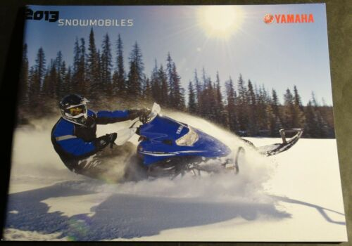 2013 YAMAHA SNOWMOBILE FULL LINE SALES BROCHURE 48 PAGES 086