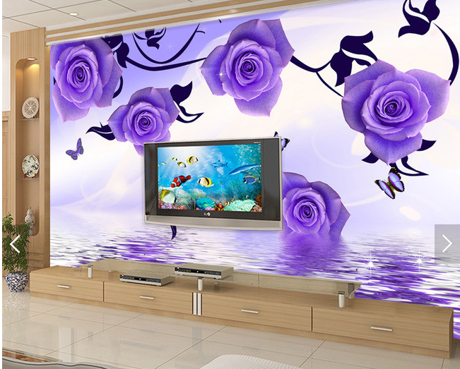 3D Squid lila 588 Wallpaper Murals Wall Print Wallpaper Mural AJ WALL AU Kyra