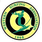 1968 UNITED STATES SURFING ASSOC. Surfboard Sticker Decal LONGBOARD Surfing