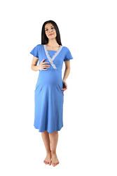 Stillpyjama Damen Schlafanzug für Schwangerschaft Nachthemd Stillfunktion Pyjama