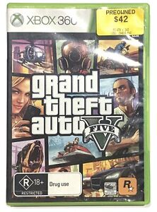 Grand Theft Auto V 5 + Manual + Map - Xbox 360 - Tested & Working! FREE Postage!