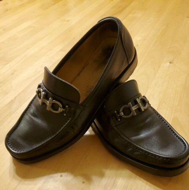 Salvatore Ferragamo Leather Loafer 7 EE