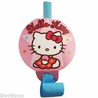 HELLO KITTY PACK OF 8 PACK BLOWOUTS- BIRTHDAY PARTY SUPPLIES