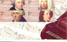 Classical Composers Ireland(2009)Min sheet MNH-Music