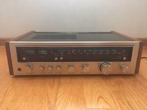 Kenwood-KR-4600-AM-FM-Stereo-Tuner-Amplifier-Receiver-Wood-1977-Japan-VINTAGE