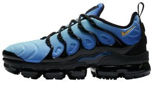 Nike Air VaporMax Plus Photo Blue Black 924453-008 Authentic All Comfortable Cheap women's shoes women's shoes