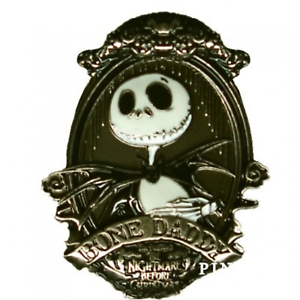 ccff0136fb1 Disney Pin 125710 Jack Skellington Bone Daddy NBC Nightmare Before ...