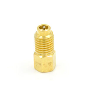 """R12 To R134a Fitting Adapter Outter 1//2/"""" ACME Inner 1//4/'/' SAE Male Tool H Jj"""