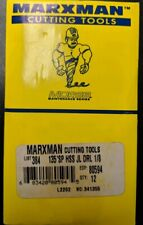 "Morse 80597 11//64/"" Jobber Drill Bit Marxman USA MADE Black /& Gold LOT OF 12"