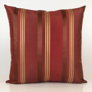 Image Is Loading Burgundy Gold Throw Pillow Cover Decorative