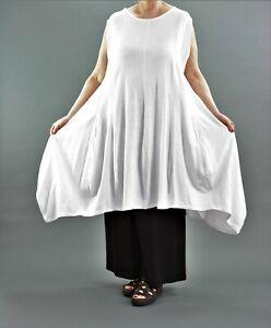 d6c0809d186136 ♢ AKH Fashion Ballon-Kleid Gr. 44,46,48,50,52 schwarz + weiß ♢ | eBay