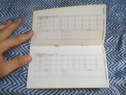 NOS 1973 FORD MUSTANG TORINO MAVERICK LTD THUNDERBIRD SERVICE SPEC SHOP MANUAL