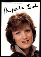 Angelika Bade Radio Luxemburg Autogrammkarte Original Signiert ## BC 7996
