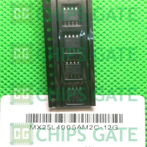 9PCS NEW MXIC MX25L4005AM2C-12G MX25L4005AM2C 12G SOP8 IC CHIPS
