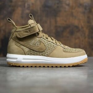 cheap for discount bf640 8c95d Details about NIKE LUNAR FORCE 1 FLYKNIT WORKBOOT Wheat Size 13. 855984-200  Duckboot jordan