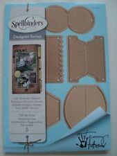 SPELLBINDERS DESIGNER SERIES TAB SET ONE (5 DIES) S4-633 BNIP