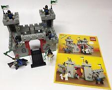 LEGO Castle 6073 BLACK FALCONS KNIGHT'S 100% COMPLETE 1984 RARE HTF LOOK!
