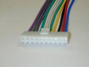 pioneer 10 pin wiring harness pioneer car stereo wiring harness rh ebay com 10 pin trailer wire harness Docking Plug Wiring Harness