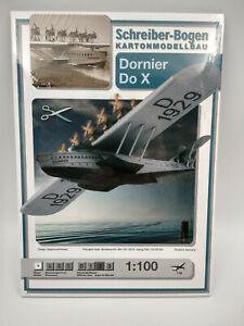 Avion Dornier DO X maquette a monter en carton longueur 40cm belle qualité