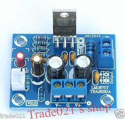 HIFI Mono Channel LM1875T Stereo Audio Amplifier Board 20W DIY Kit