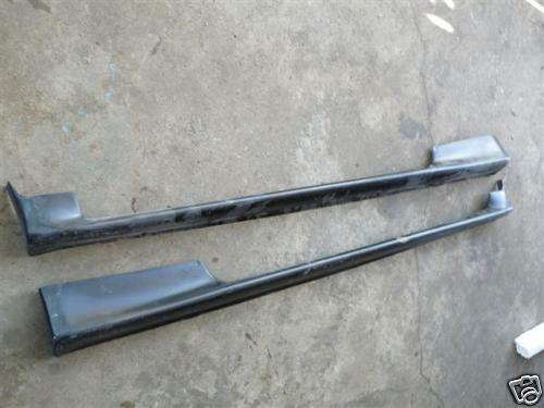 for JDM Mitsubishi Colt mirage asti Coupe side skirts CA  CA1A