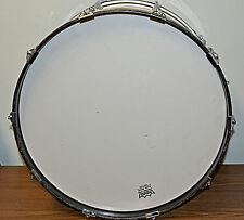 """Slingerland Marching Bass Drum 14"""" x 22"""" Maple with White Gloss Finish"""