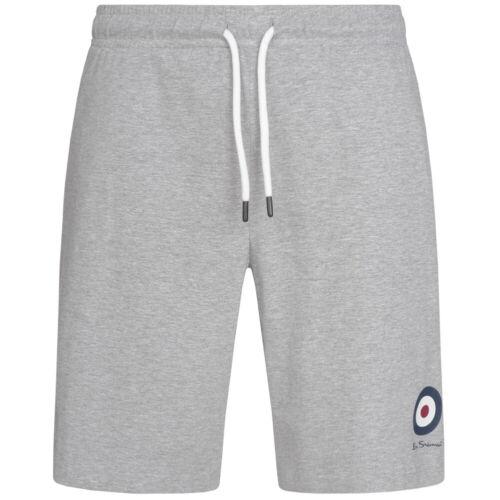 Ben Sherman Hommes Fitness Sweat Logo Sport Shorts court Entraînement Pantalon NOUVEAU