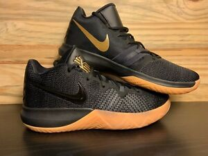 Nike Kyrie Irving Flytrap Men  039 s Basketball Shoes Black Gold ... 69cb6351be0f
