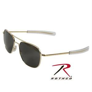 2e5c39e726 AO American Optical Original Pilot Gold 57mm Sunglasses for sale ...