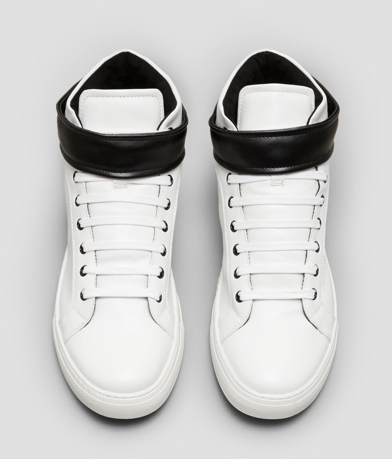 Scarpe casual da uomo  $160.00 kenneth Cole DOUBLE SNEAKER POINT II HIGH-TOP SNEAKER DOUBLE - WHITE, Size 7 855c81
