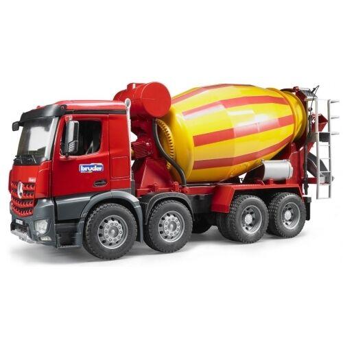Bruder MB Arocs Betonmisch-LKW 03654 Baufahrzeuge, Lastwagen, Kinderspielzeug