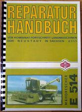 """REPARATURHANDBUCH MÃ""""HDRESCHER FORTSCHRITT E514  BELARUS ZT303 ZT323"""