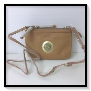 f127aaa6ff1e Mimco SECRET Couch Hip Across body Hand Bag BNWT  199 Honey Free ...
