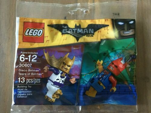 Disco /& Tears of Batman Polybag -2 Minifigs New! 30607 LEGO The Batman Movie