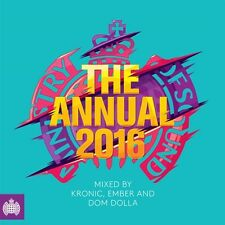 MINISTRY OF SOUND THE ANNUAL 2016 (3CD) RUDIMENTAL, AVICII, SKRILLEX, DISCLOSURE