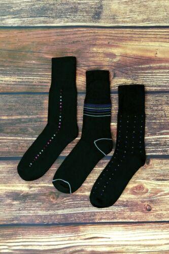 3 Pairs Mens Non Elastic Loose Wide Top Antibacterial Anti Sweat Bamboo Socks