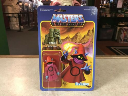 2017 Super7 ReAction Masters of the Universe ORKO 4 Inch Action Figure MOC