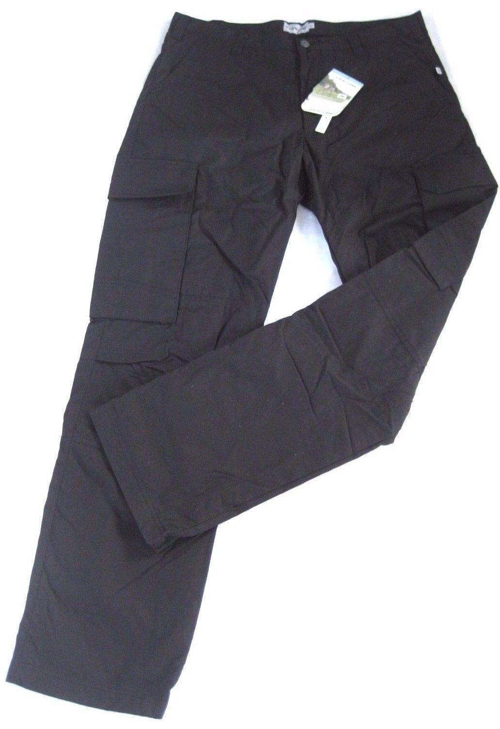 Life line Trail Waxtex pantalones hombres térmica térmica térmica pantalones cargo viento impermeable negro 497c15