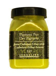 Sennelier-Artist-Quality-Dry-Pigment-Cadmium-Yellow-Lemon-amp-free-delivery