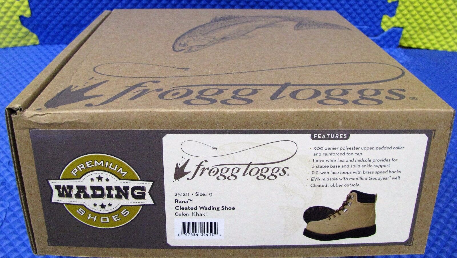 FROGG TOGGS Rana Multi-Cleated Wading shoes-251211 Khaki color CHOOSE YOUR SIZE
