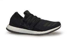 Da Uomo Adidas pureboost R Maq3486Nero Bianco Scarpe Da Ginnastica