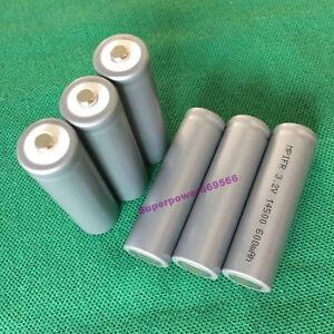 6PCS-LFP-IFR-14500-600mAh-3-2V-LiFePO4-Li-ion-battery-AA-tip-cap-consumer-type