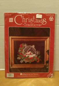 Dimensions Christmas Traditions Designs For The Needle Snow Globe 1936