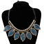 Fashion-Elegant-Women-Rhinestone-Crystal-Choker-Bib-Statement-Pendant-Necklace thumbnail 37