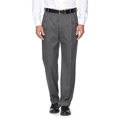 Croft /& Barrow Men/'s Stretch Fabric No Iron Classic-Fit Dress Shirt Navy