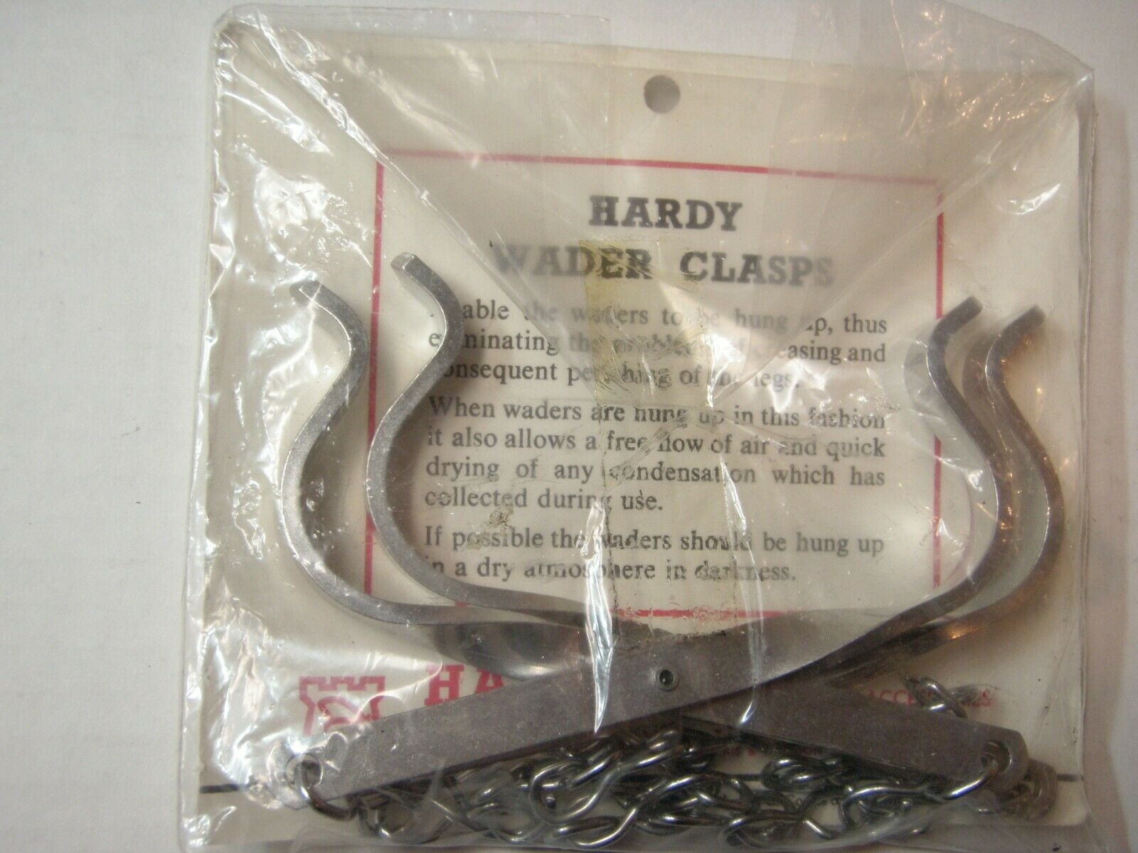 Hardy Vintage Wader Clasps New