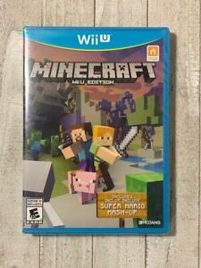 Minecraft: Wii U Edition (Nintendo Wii U, 2016) Brand New Factory Sealed