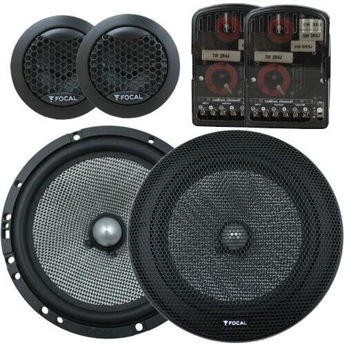 "Focal 165AS 6.5"" Split Car Speakers (165 AS) [AUST WARR]"