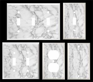 Image Is Loading Of Gray Marble Light Switch Cover Plate